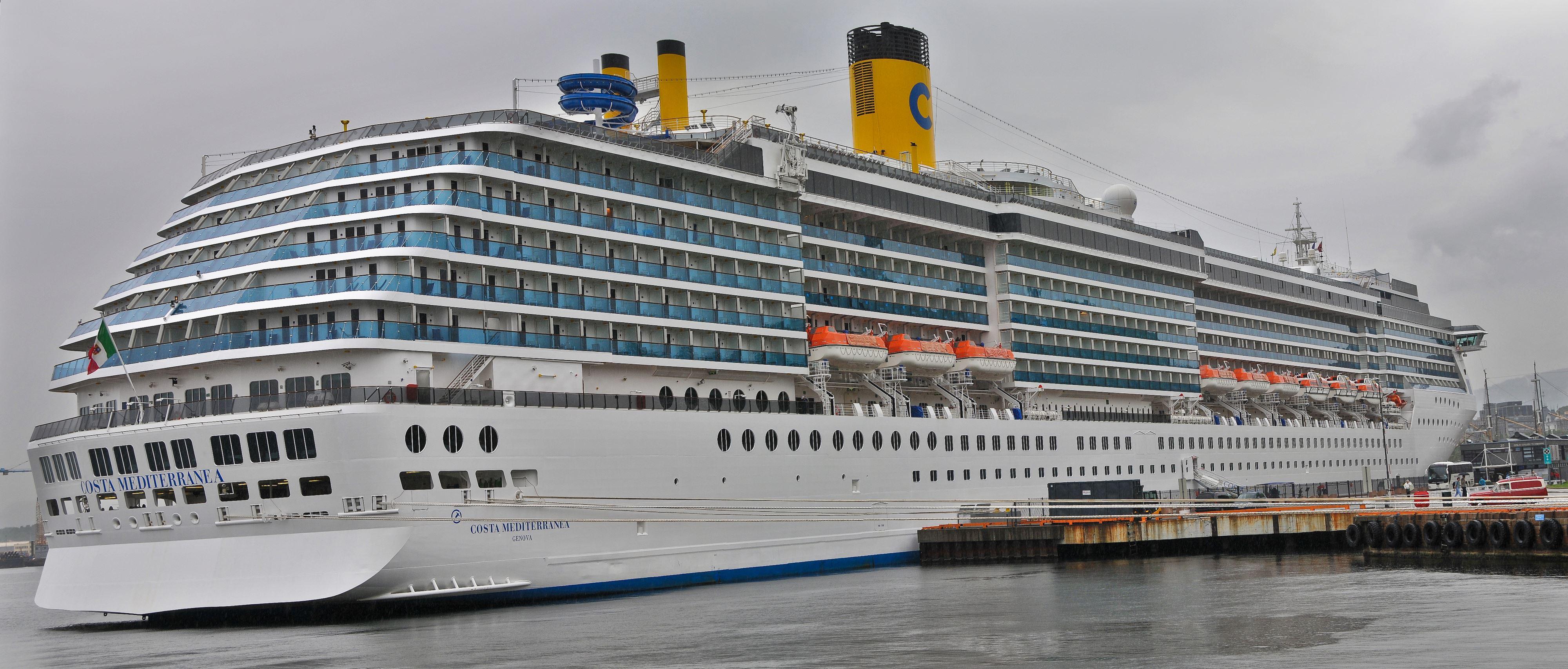 Kreuzfahrtschiffe Die Costa Mediterranea