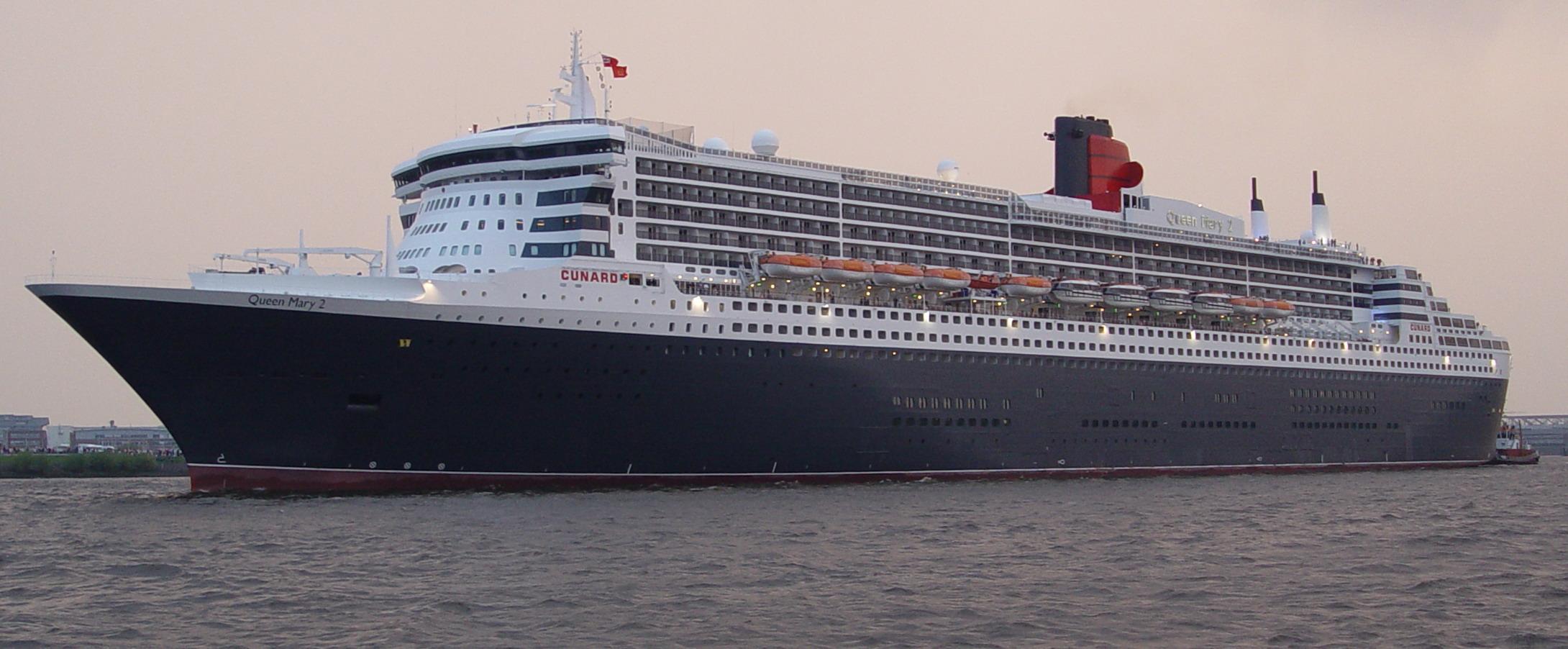 kreuzfahrtschiffe die 39 queen mary 2 39. Black Bedroom Furniture Sets. Home Design Ideas
