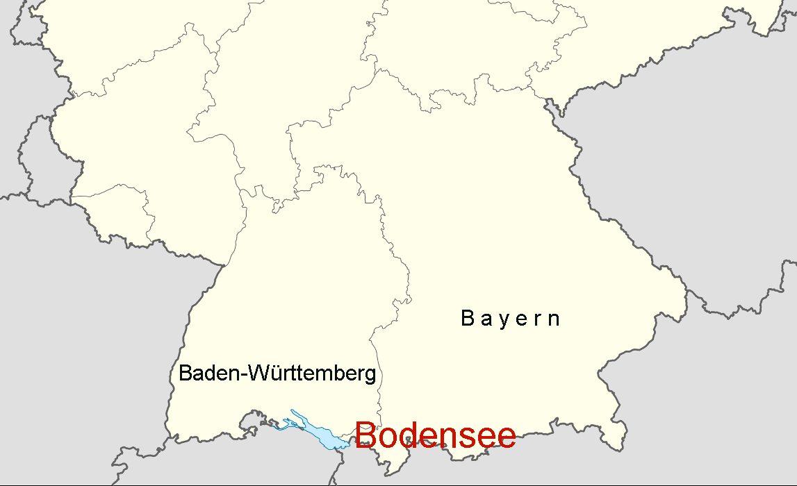 Bodensee karte deutschland for Boden deutschland