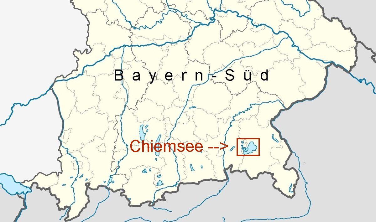 Chiemsee Karte Region.Online Hafenhandbuch Deutschland Der Chiemsee
