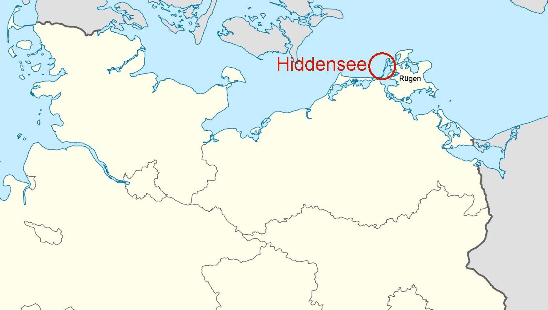 Revierinformation für Segler: Beschreibung der Insel Hiddensee und ...