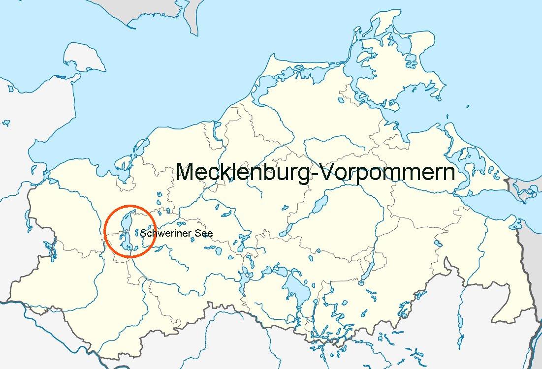 Seen In Norddeutschland Karte.Online Hafenhandbuch Deutschland Der Schweriner See