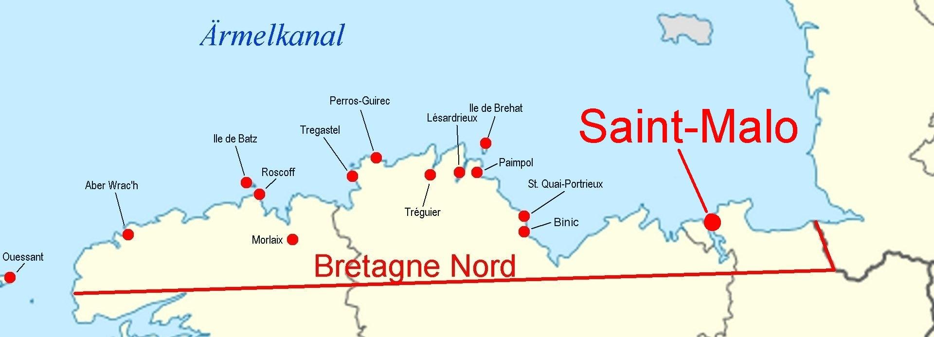 Wetter Saint Malo