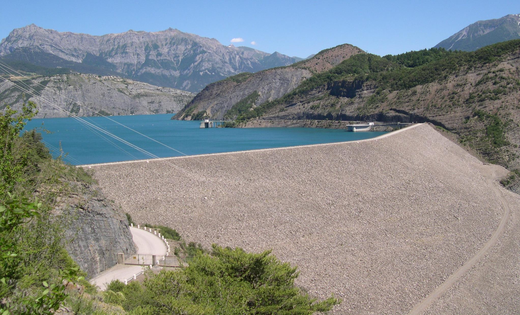 Lac Serre Poncon : Online hafenhandbuch frankreich beschreibung des lac de serre