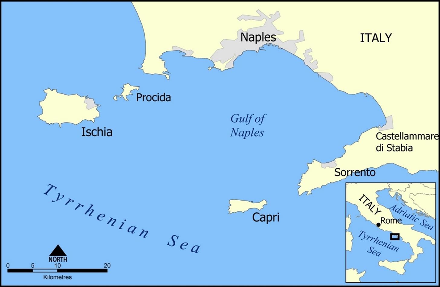 Online Hafenhandbuch Italien Insel Capri Tyrrhenisches Meer Und