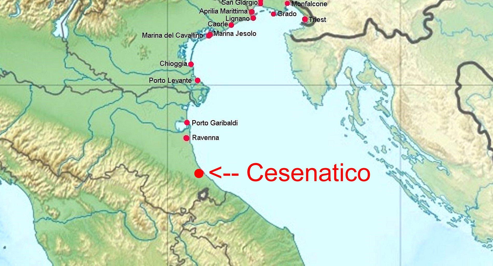 cesenatico karte italien Online Hafenhandbuch Italien: Onda Marina in Cesenatico