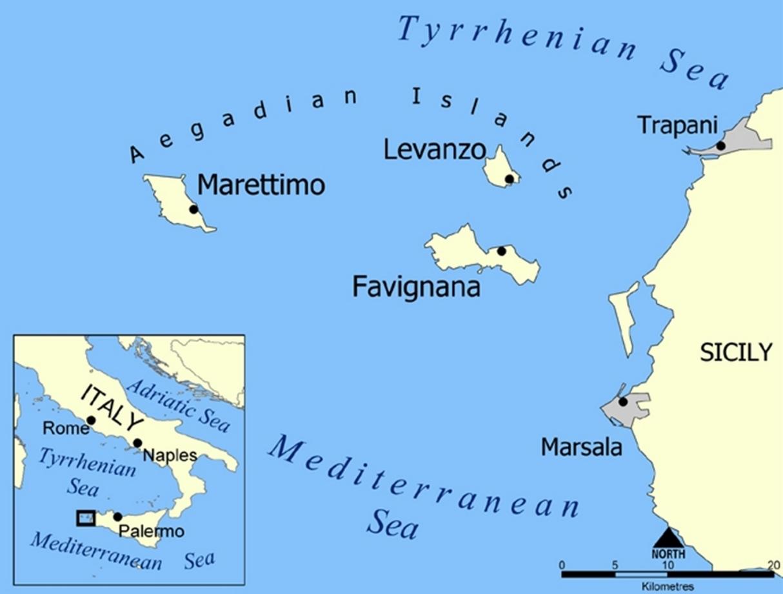 Online-Hafenhandbuch Italien: Insel Levanzo / Sizilien