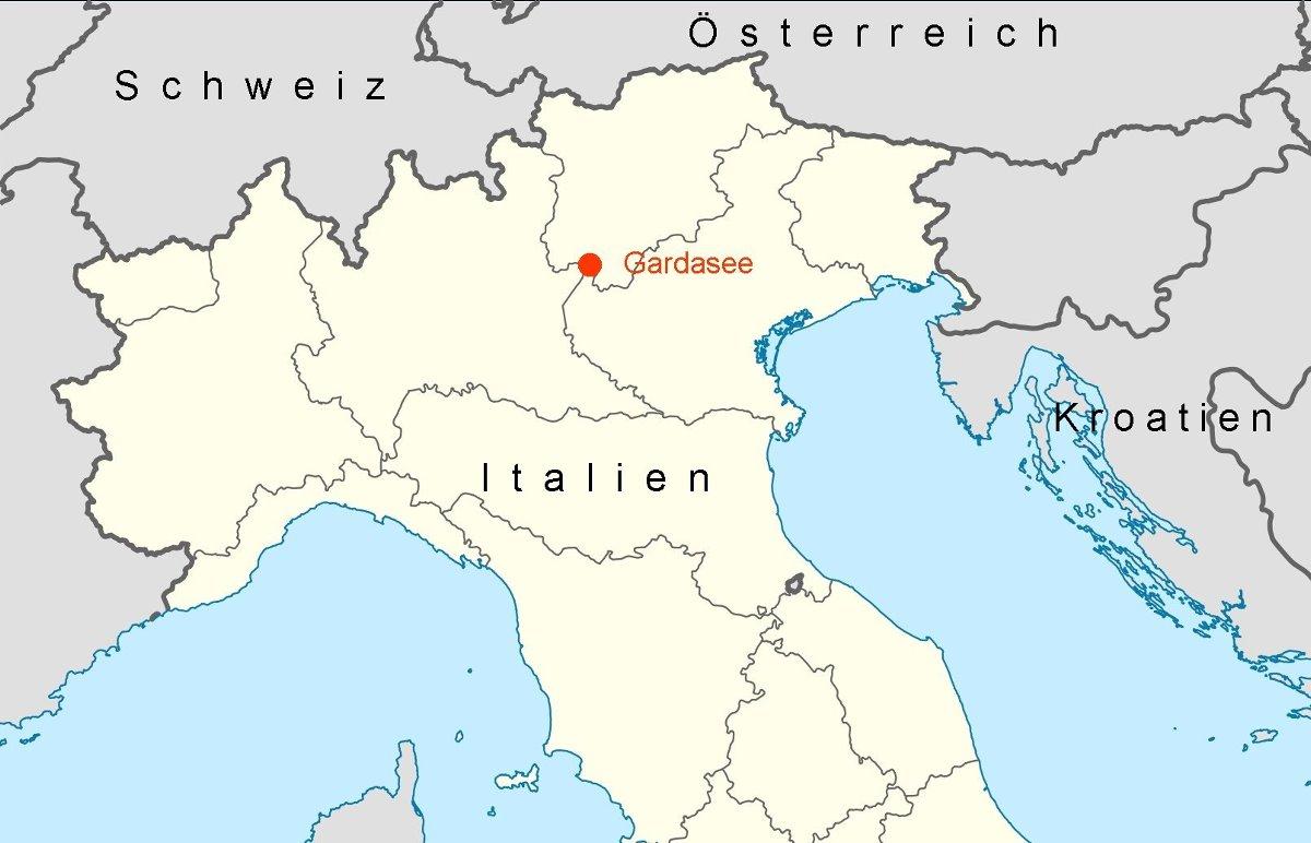 Karte Italien Gardasee.Online Hafenhandbuch Italien Beschreibung Des Gardasees Und Der