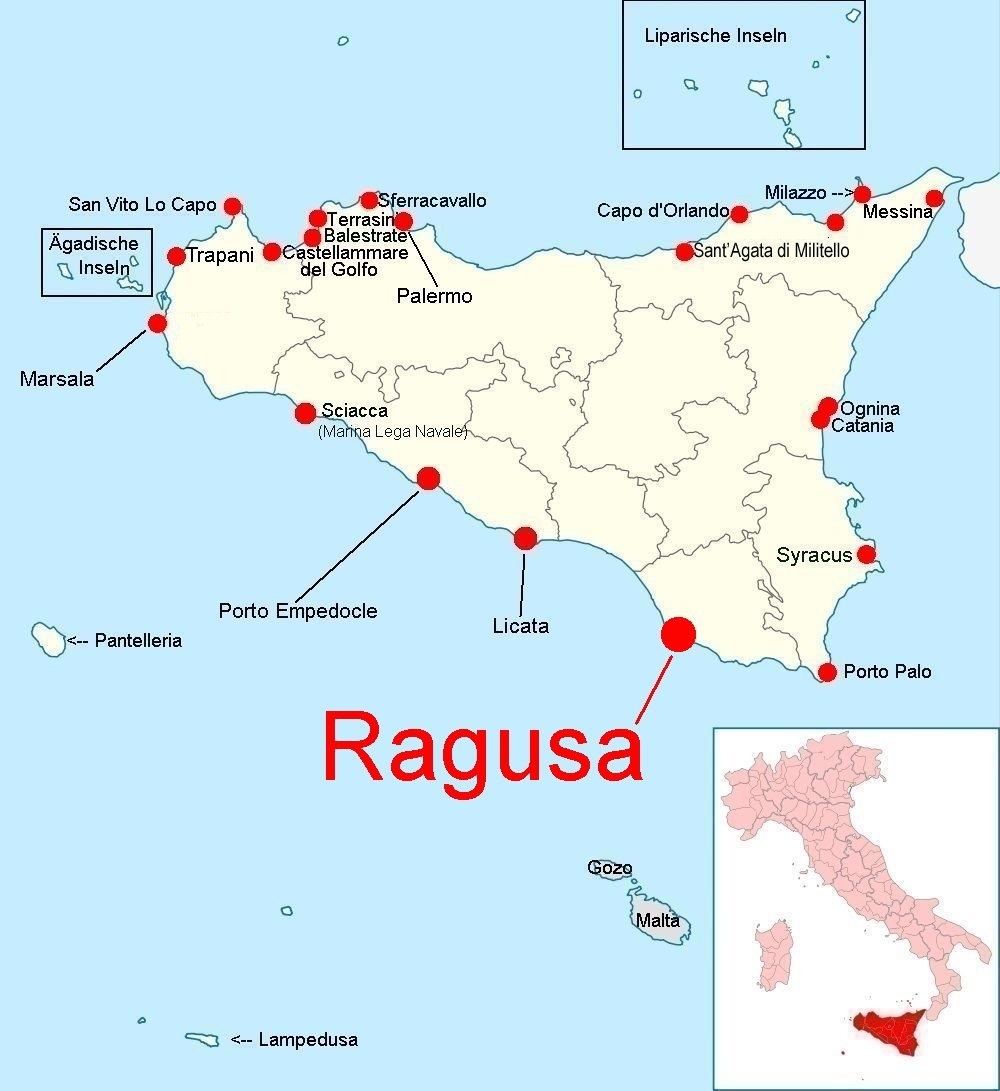 Italien Karte Lampedusa.Online Hafenhandbuch Italien Marina Di Ragusa Sizilien