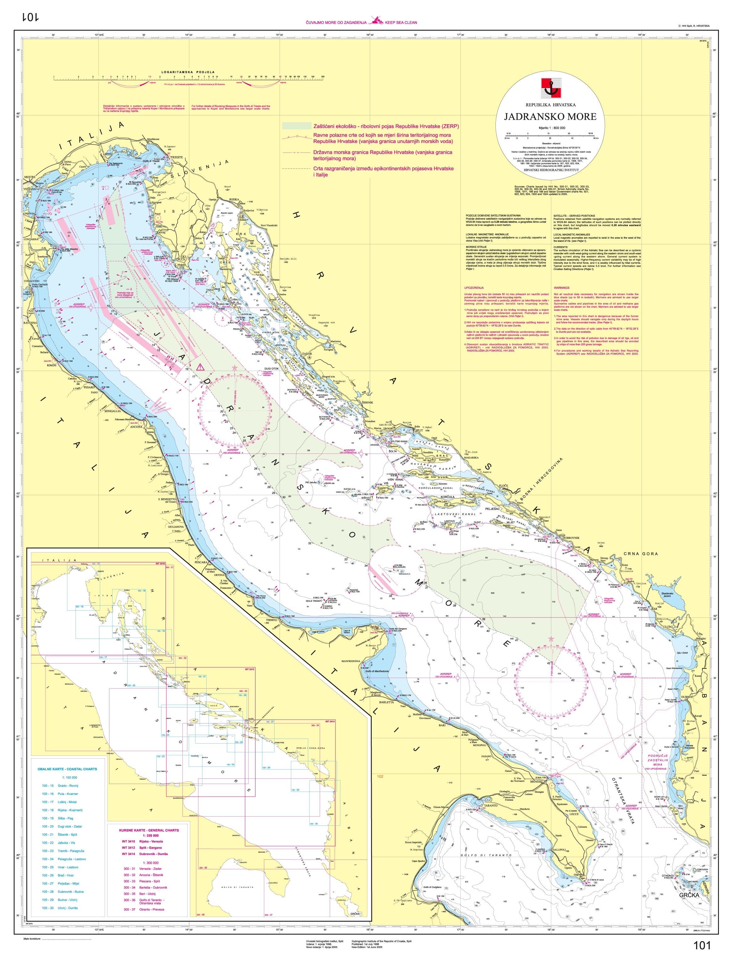 Italien Obere Adria Karte.Online Hafenhandbuch Italien Hafen Und Marinas An Der
