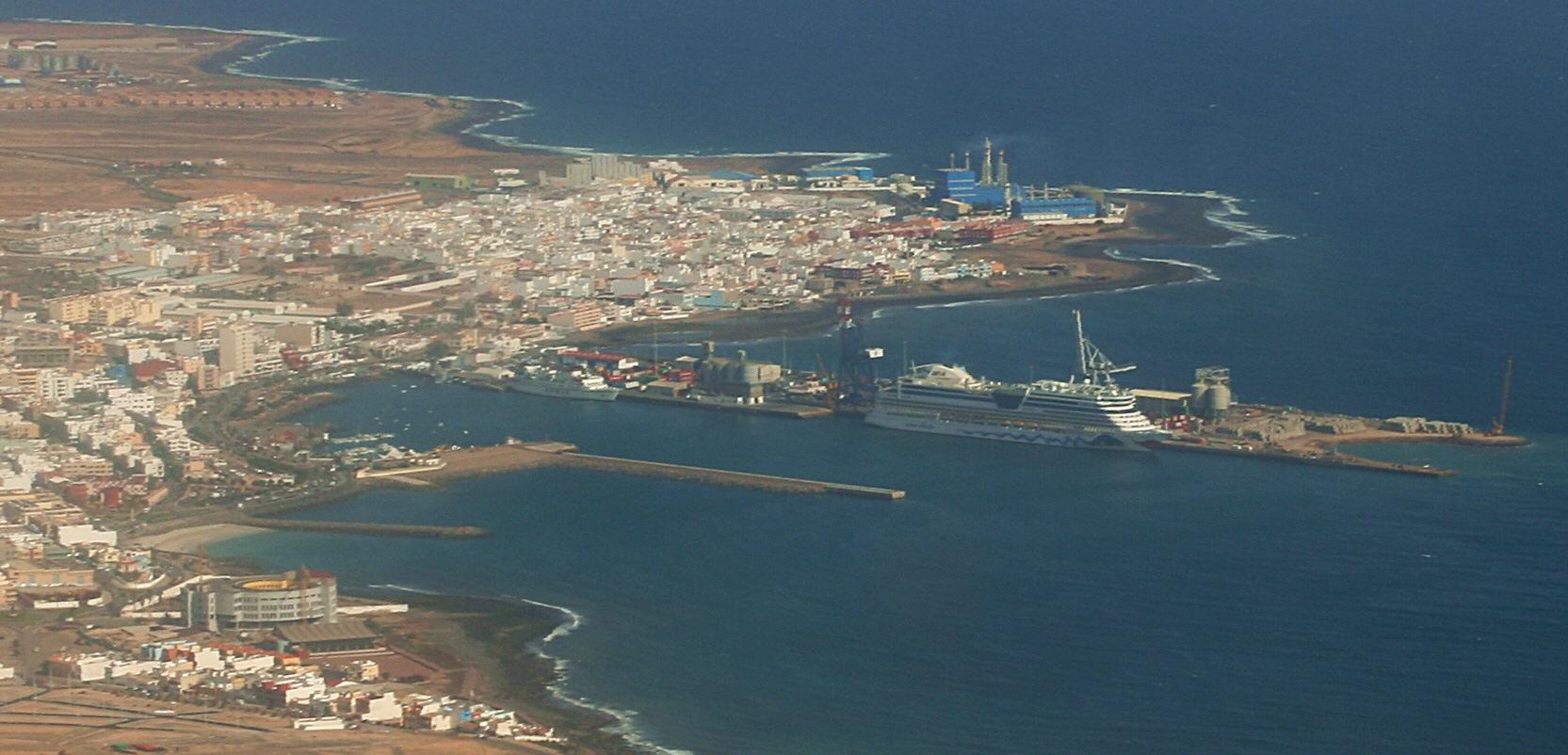 Puerto Del Rosario Spanien