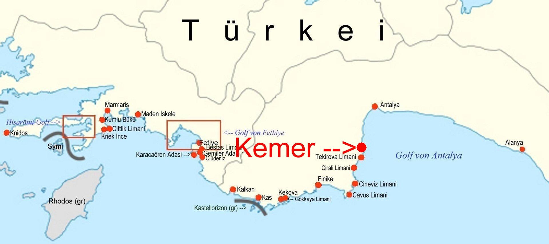 Online Hafenhandbuch Turkei Kemer Marina Am Golf Von Antalya