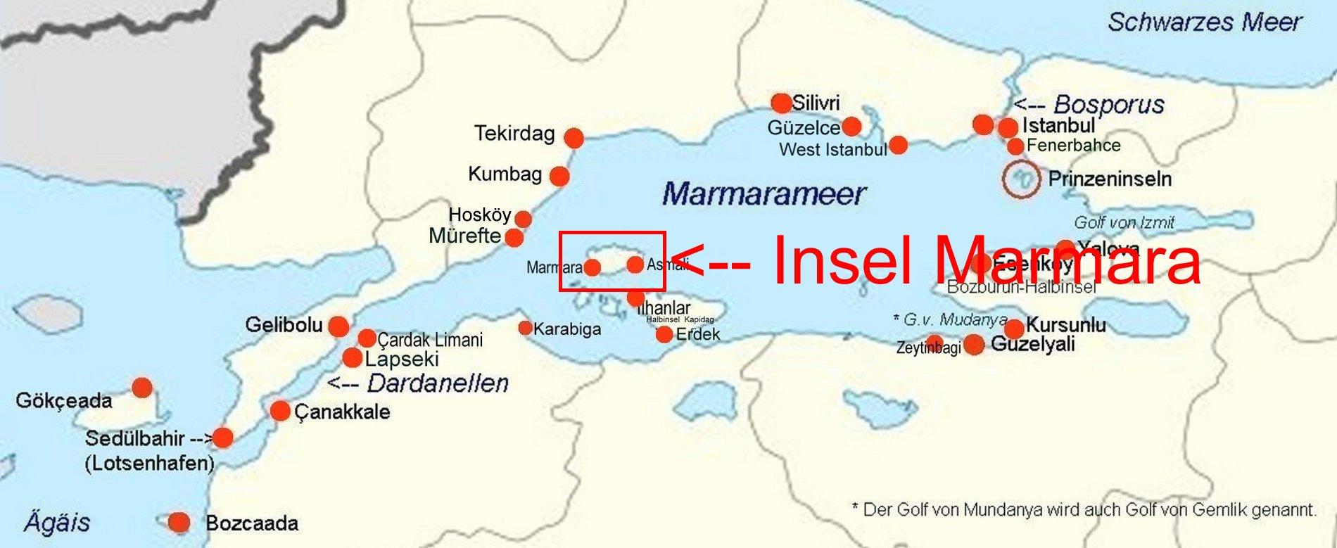Türkei Insel