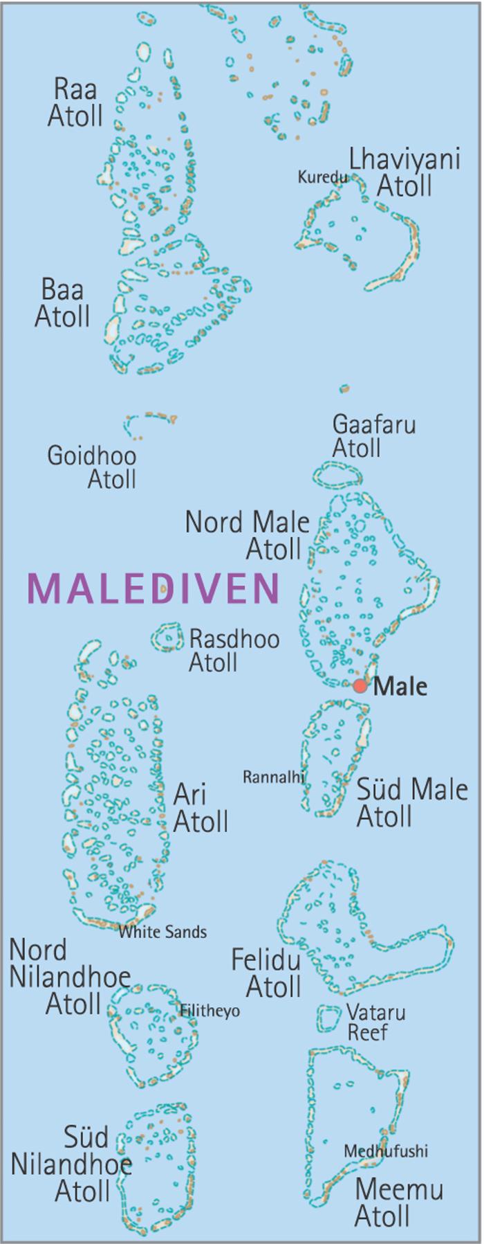 Revierinformation Fur Segler Die Malediven