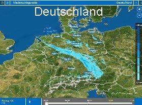 Wetterradar Deutschland Vorschau